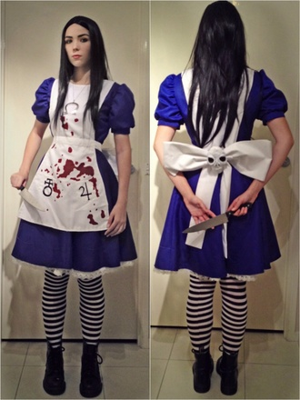 cosplay costume alice madness returns alice