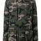 Valentino camouflage jacket, women's, size: 38, green, cotton