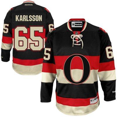 Reebok Erik Karlsson Ottawa Senators Premier Player Jersey - Black - Shop.NHL.com