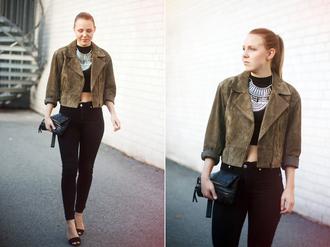 bag shoes jacket pants jewels sweater elenita