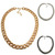 ROMWE | Long Wide Curb Chain Necklace, The Latest Street Fashion