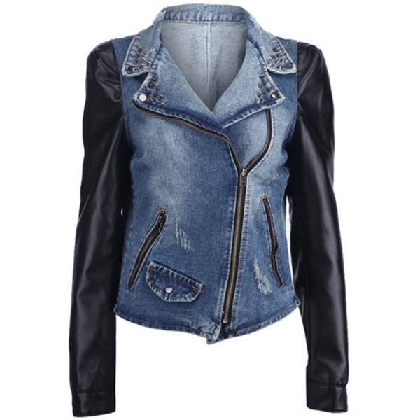jacket leather sleeves