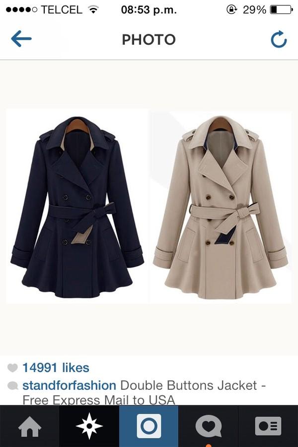 Free Fall 2013 Women Designer Fashion Trench Slim Coat For