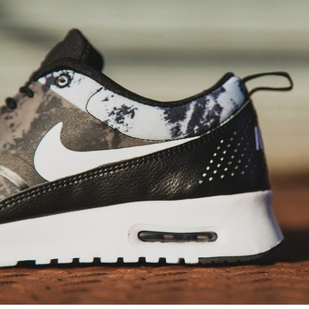 shoes air max black and white sneakers nike air nike theas mens shoes