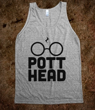 Pott Head Tank - Nerd Shirts - Skreened T-shirts, Organic Shirts, Hoodies, Kids Tees, Baby One-Pieces and Tote Bags Custom T-Shirts, Organic Shirts, Hoodies, Novelty Gifts, Kids Apparel, Baby One-Pieces | Skreened - Ethical Custom Apparel