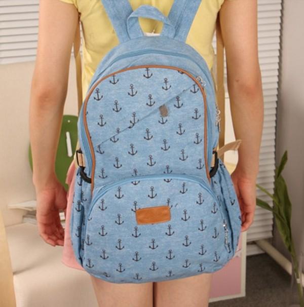 bag canvas backpack