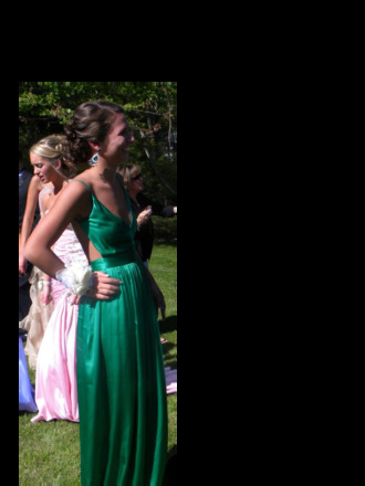 dress skinny girl prom dress open back backless dress green dress spaghetti strap pretty open backed dress