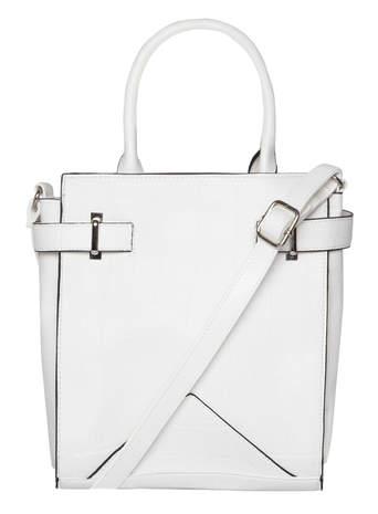 White small tab tote bag - Dorothy Perkins