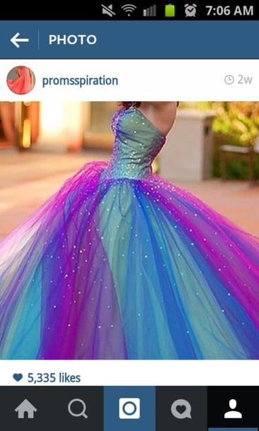 dress rainbow dress
