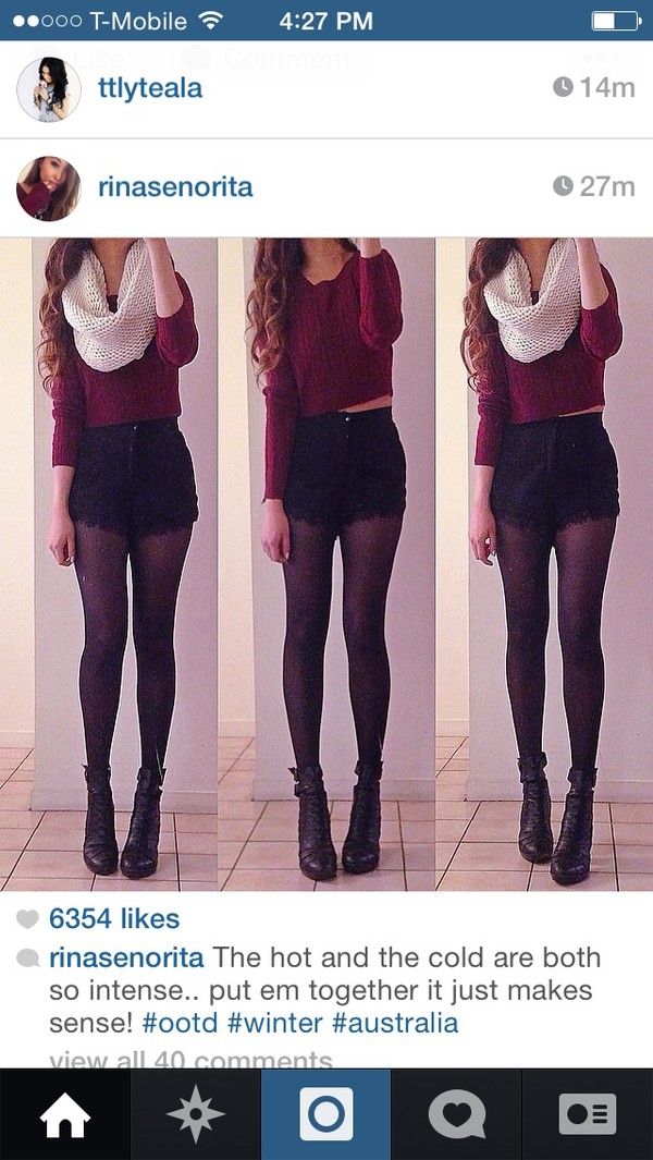 sweater burgundy knitted sweater cropped sweater tight