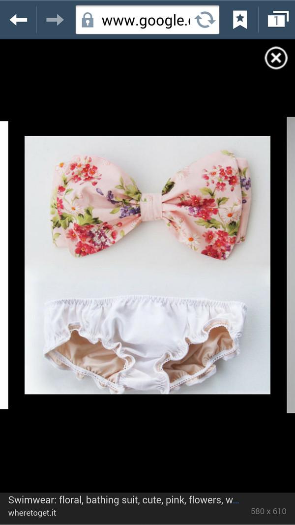 swimwear floral