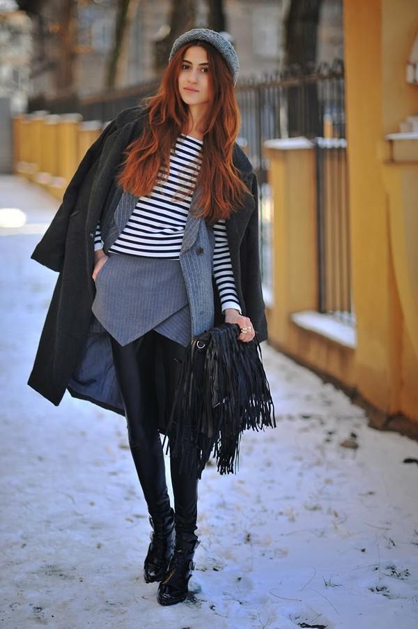 tina sizonova coat jacket shorts bag shoes sweater hat jewels