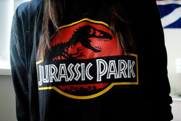 sweater jurassic park