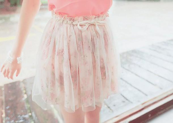 skirt girl kfashion pink skirt korean fashion