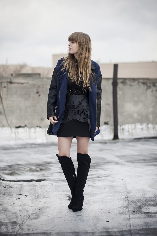 just another me jacket t-shirt skirt shoes