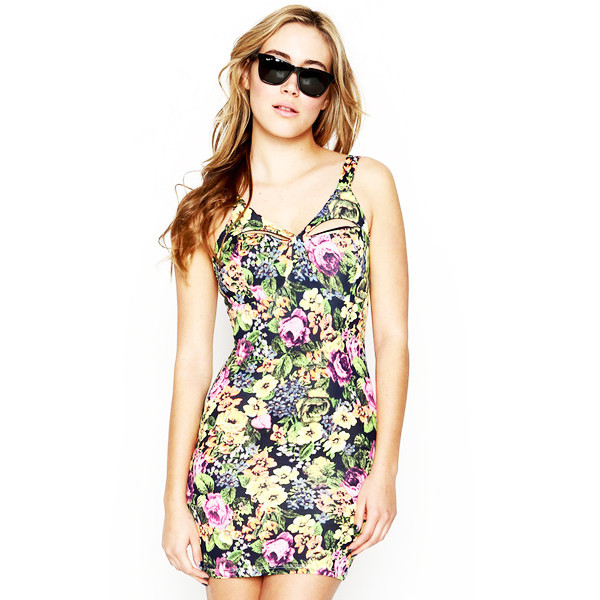 Floral Outburst Dress | Vanity Row