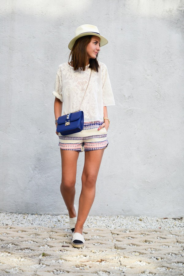lovely pepa shorts top shoes bag hat jewels