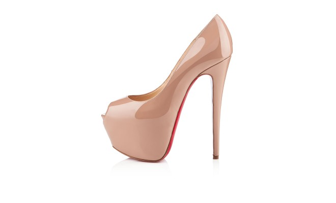 Christian Louboutin HIGHNESS PATENT 160 mm Nude [CELE00701] - $191.20 : Discounted Christian Louboutin,Jimmy Choo,Valentino,Giuseppe Zanotti and other Brand shoes., Christian Louboutin,Jimmy Choo,and Valentino