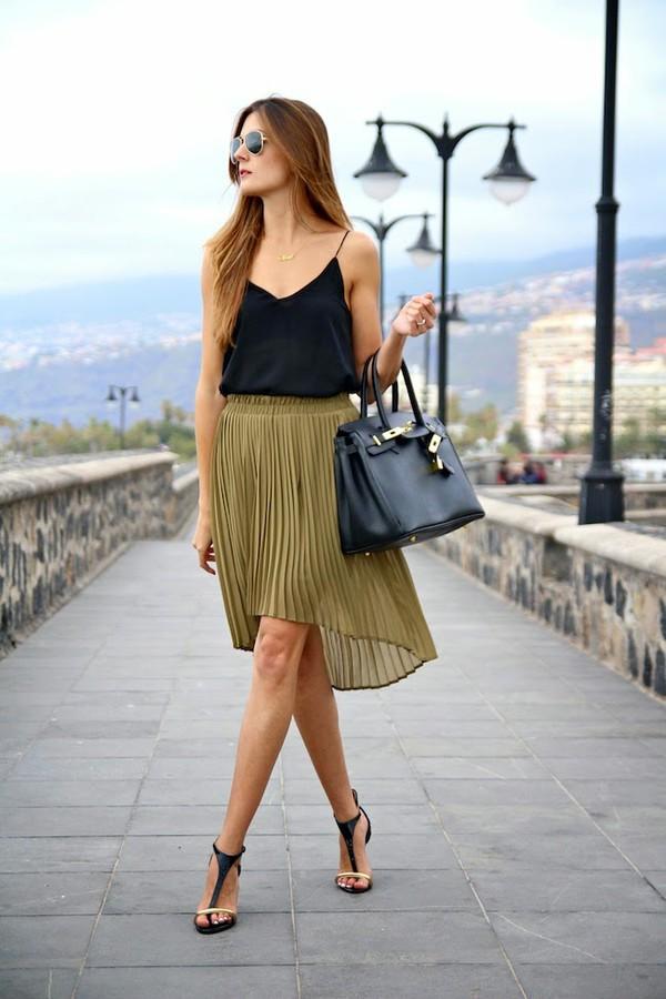 marilyn's closet blog skirt blouse shoes jewels