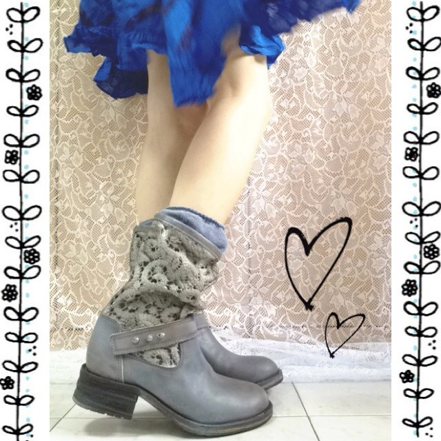 Free People  Crochet Beau Boot at Free People Clothing Boutique