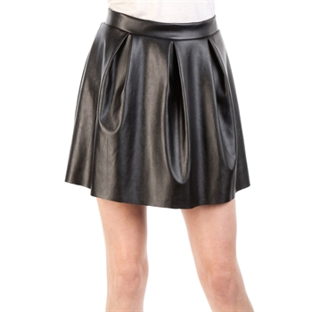 Soprano Juniors Faux Leather Skirt at Von Maur
