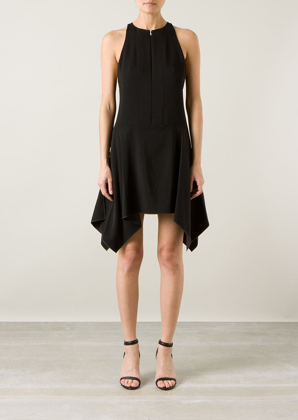 dress edun black crepe dress