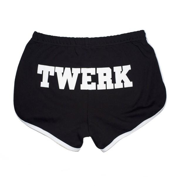 shorts twerk black sexy twerk shorts