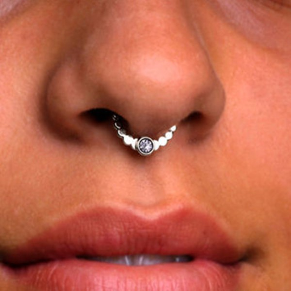 jewels noose grunge pastel mermaid ring pastel goth kawaii piercing