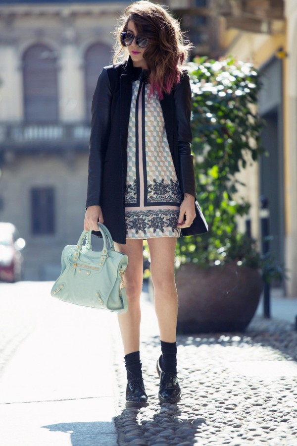 scent of obsession dress jacket bag sunglasses shoes