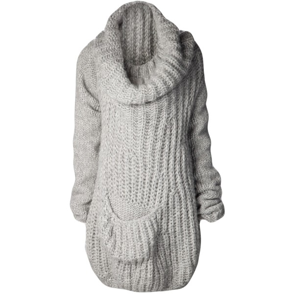 FAD cowl kneck oversized sweater - Polyvore