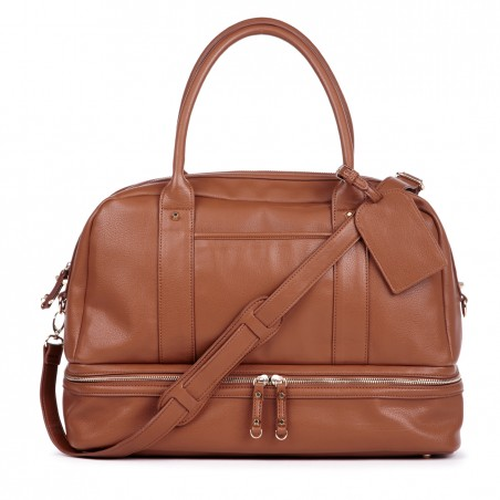 Sole Society - Large Satchels - Sia - Cognac