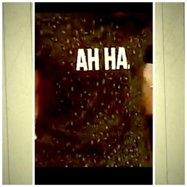 shirt ah ha. t-shirt