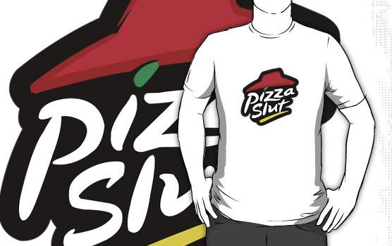 """Pizza Slut"" T-Shirts & Hoodies by mr-tee | Redbubble"