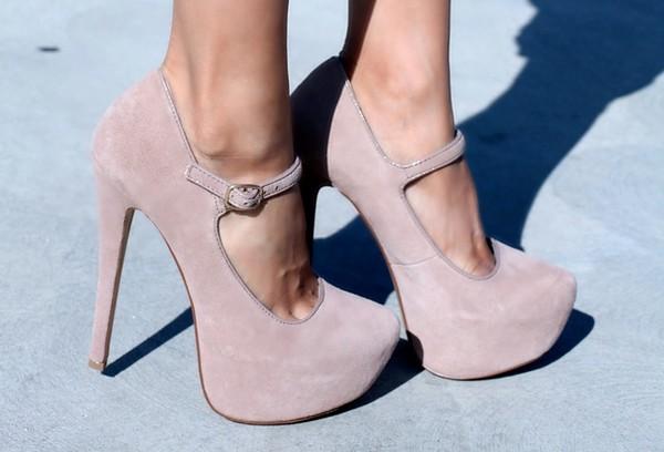 shoes nude high heels