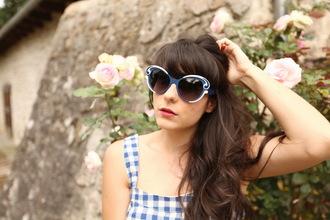the cherry blossom girl dress sunglasses