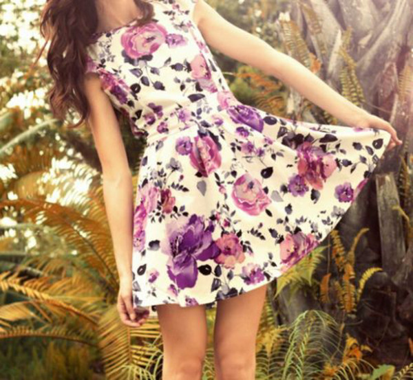 dress flowers floral cute sexy