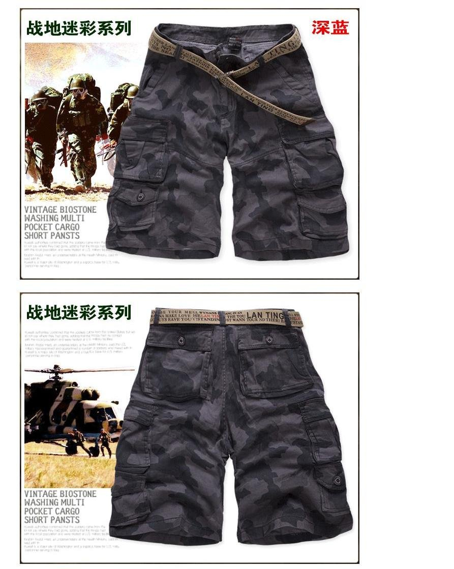 loose camouflage shorts,cargo shorts,military shorts S3501M-in Shorts from Apparel & Accessories on Aliexpress.com