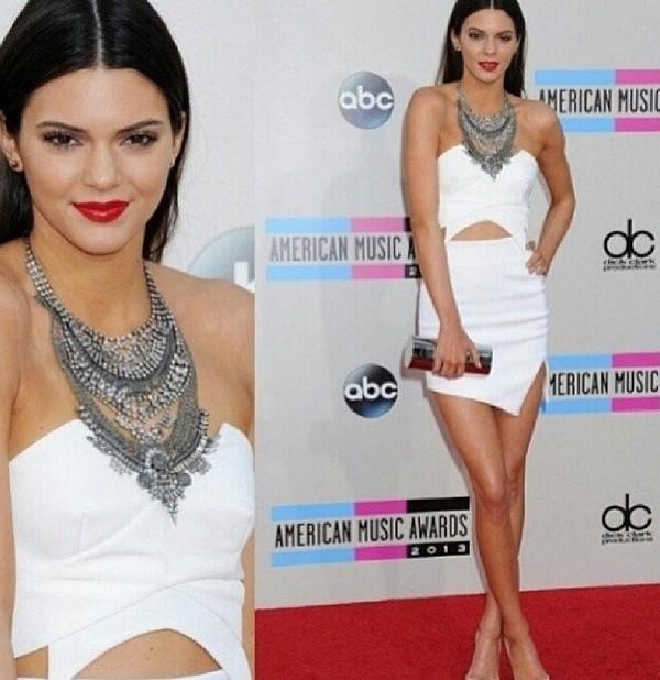 dress kylie jenner white dress beautiful