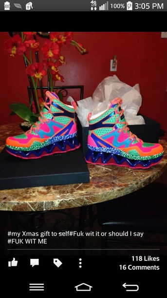 shoes multicolor sneakers