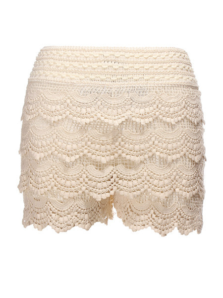 Layered Lace Shorts | Outfit Made
