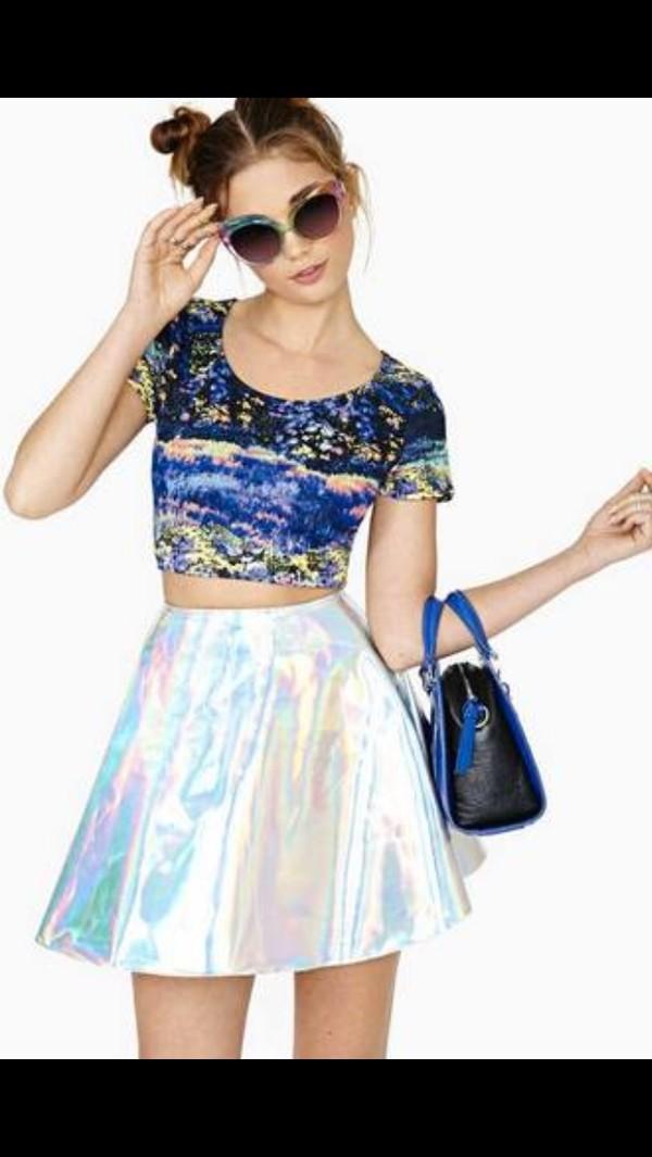 skirt fashion skirt fashion skirts transparent transparent skirt vintage skirt fashion shirt color/pattern diaphanous skirt sheer sheer skirt litmus litmus skirt iridescent