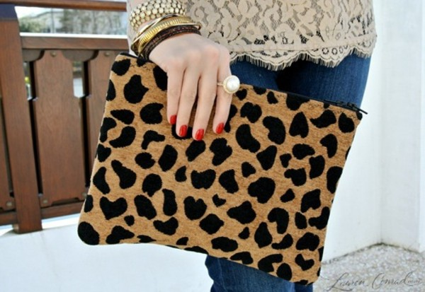 bag leopard print animal print bag