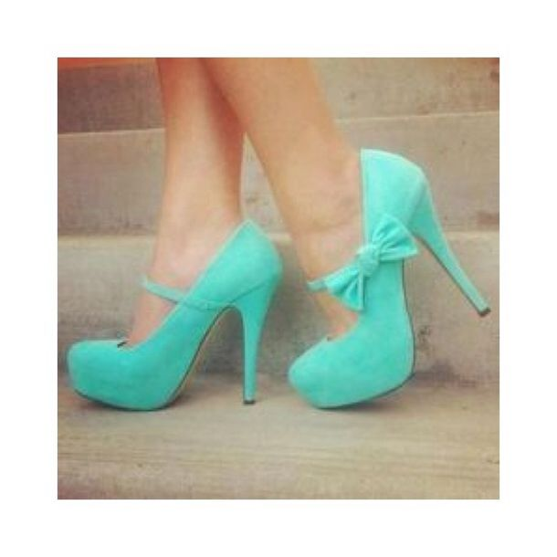 Cute Tiffany Blue High Heels - Shop for Cute Tiffany Blue High ...