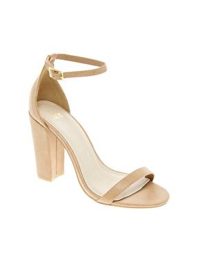 ASOS   ASOS HOMETOWN Heeled Sandals at ASOS