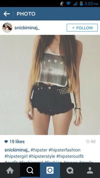 shorts shirt top tank top edgy goth hipster goth hipster hipster tumblr outfit outfit idea