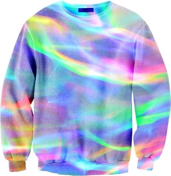 sweater rainbow colorful rainbow sweater sweatshirt sweater
