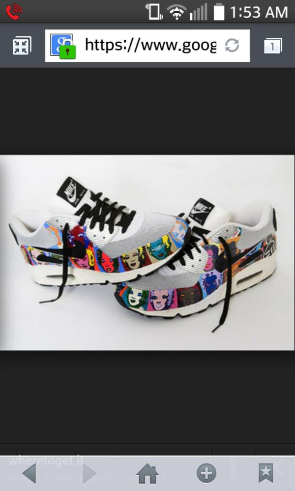 shoes white marylin monroe nike air max 90