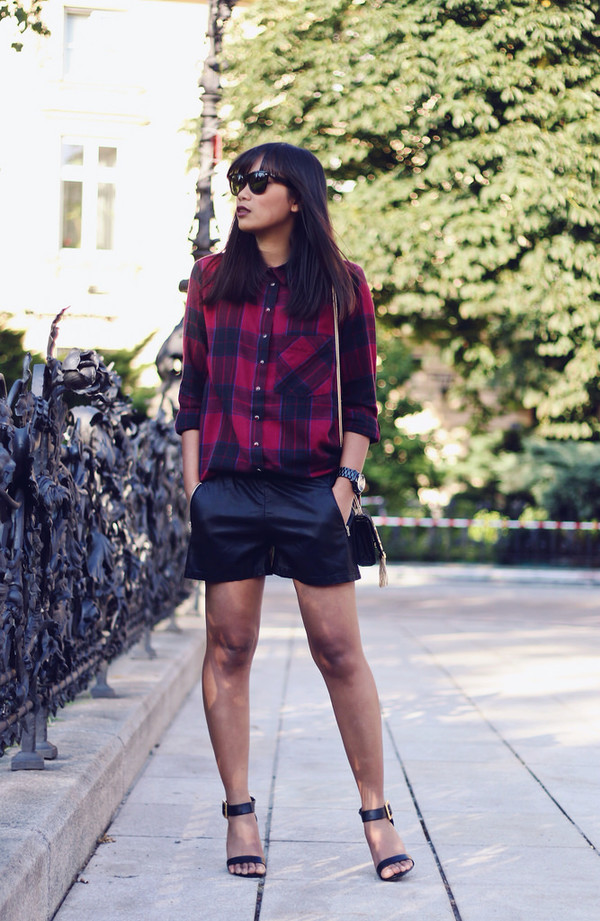 mode junkie shirt shorts bag jewels shoes