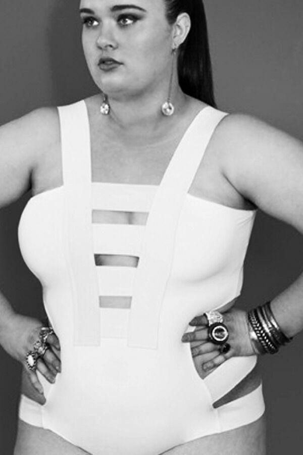 Gisela Ramirez Plus Size Bondage Bathers | eBay