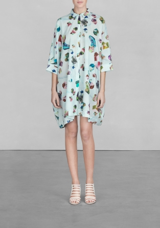 Gem print shirt dress  | Gem print shirt dress  | & Other Stories